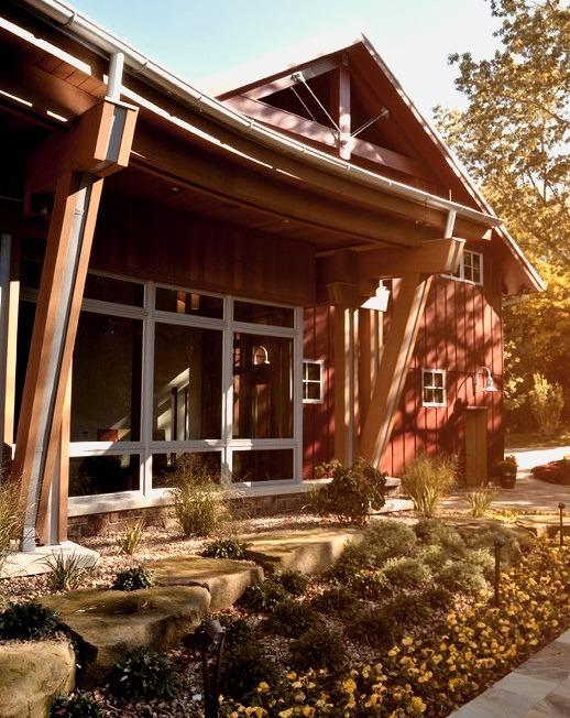 Family Recreation Barn Windows