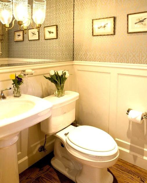 Elegant Powder Bath